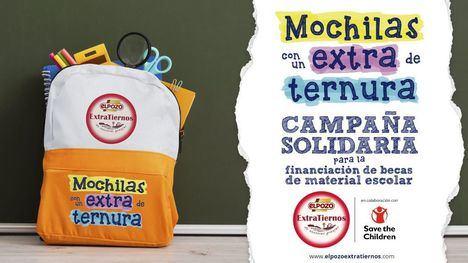 ElPozo Extratiernos inicia la campaña solidaria 'Mochilas con un Extra de Ternura'