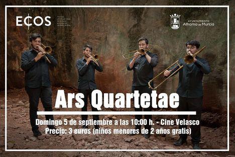 VÍDEO Ars Quartetae, los trombones que hablan a los niños