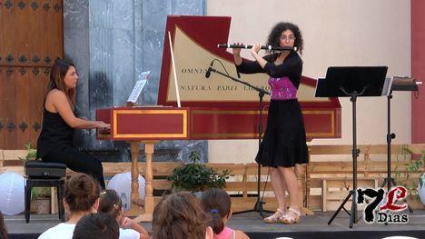VÍDEO ECOS lleva a Librilla un 'piano' que suena como un arpa