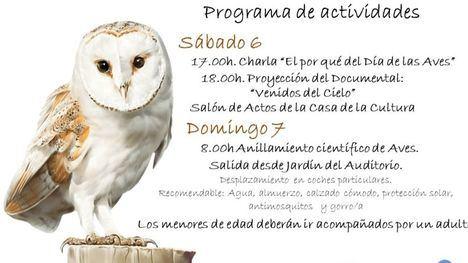 Librilla celebra este fin de semana el Día de las Aves con varios actos