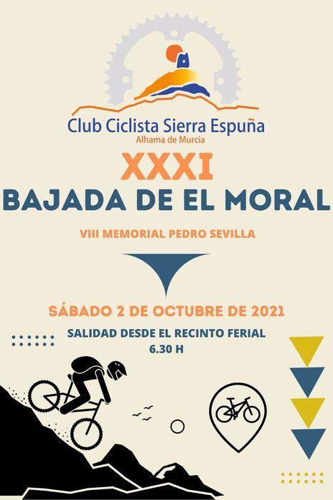 El Club Ciclista Sierra Espuña celebra la 31º Bajada de El Moral