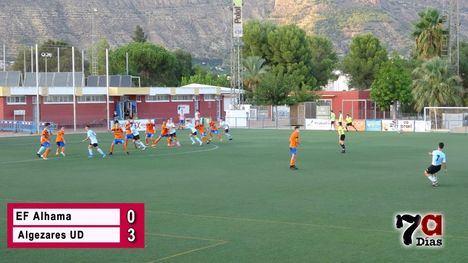 VIDEO Agrio comienzo de temporada para la EF Alhama (0-3)