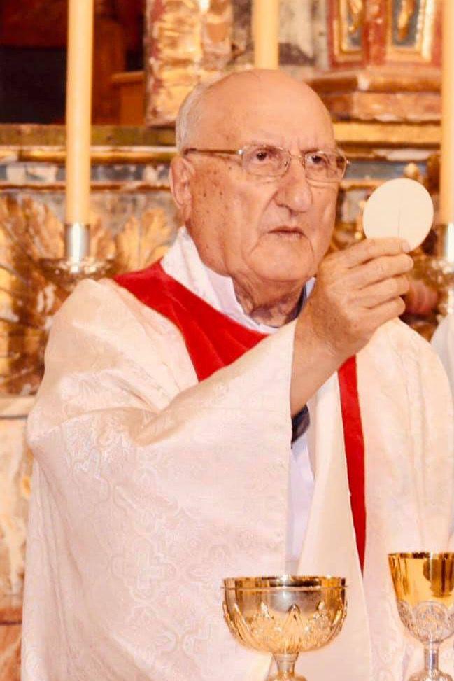 Fallece en Totana el párroco Cristóbal Guerrero a los 93 años