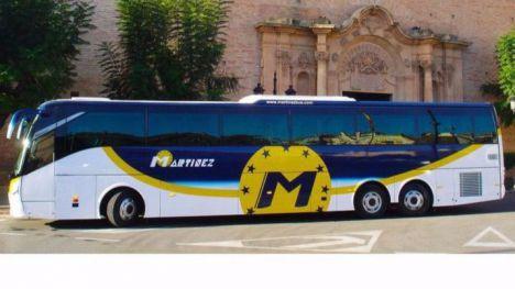 Novedades en el servicio de bus entre Librilla y Alhama