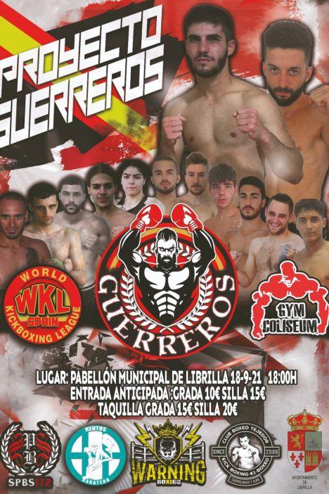 Este sábado el Proyecto Guerreros lleva el kickboxing a Librilla