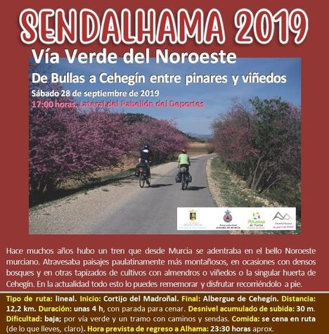 Abierto el plazo para apuntarse a la nueva ruta de Sendalhama