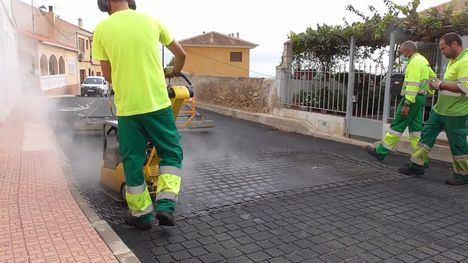 VÍDEO Finaliza la renovación de redes en la pedanía de El Berro