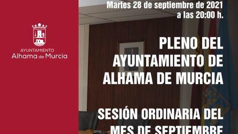 Educación, sanidad y Mar Menor, al pleno de septiembre
