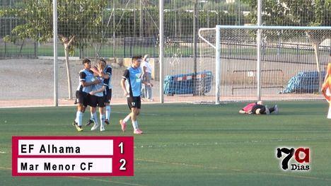 VÍDEO Al EF Alhama se le escapa el empate ante el Mar Menor CF