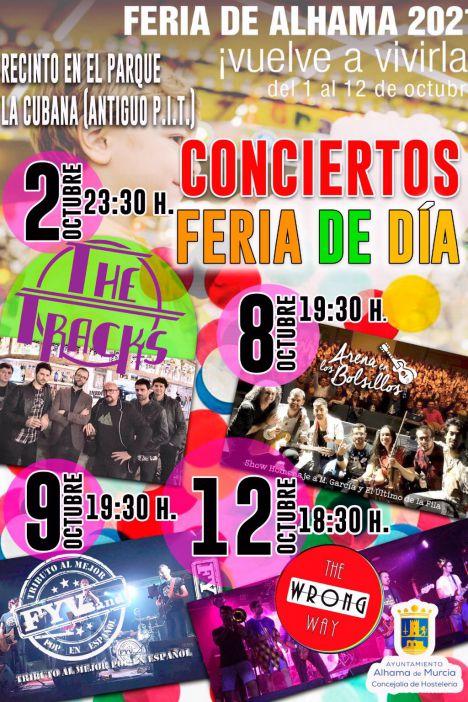 VÍD. La Feria de Día se adereza con cuatro conciertos