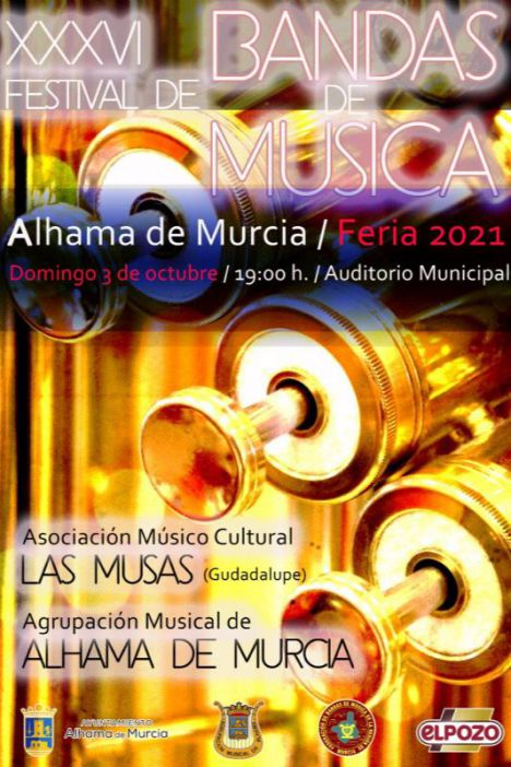 VÍD. La AMC Las Musas, invitada al 36º Festival de Bandas