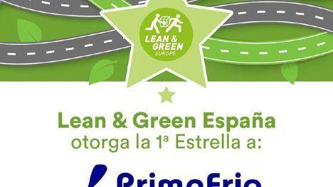 Grupo Primafrio recibe la 1ª Estrella Lean & Green de AECOC