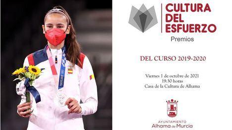 VÍD. Adriana Cerezo, madrina de los Premios a la Cultura del Esfuerzo