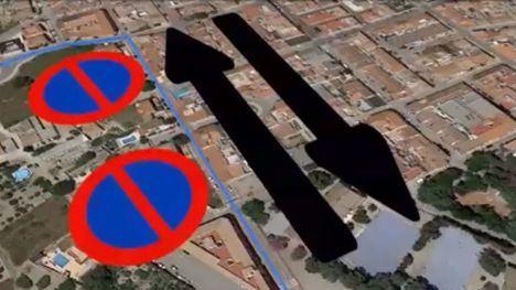 VÍDEO Policía Local explica los desvíos de tráfico por la Feria