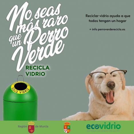 Librilla se suma al reciclaje de vidrio para tener un refugio de mascotas