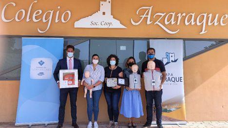 Fund. de Trabajadores ElPozo dota de un desfibrilador al Azaraque