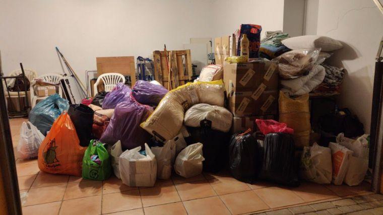 El Barrio logra recoger gran cantidad de ayuda para La Palma
