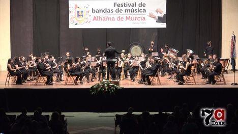 VÍD. La lluvia respetó al Festival de Bandas casi hasta el final