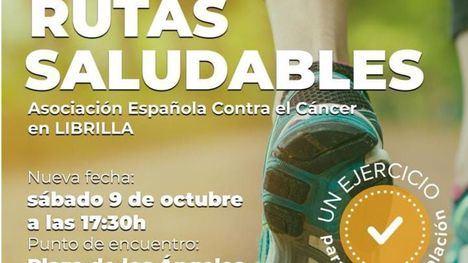 Vuelven las Rutas Saludables de la AECC Librilla este sábado