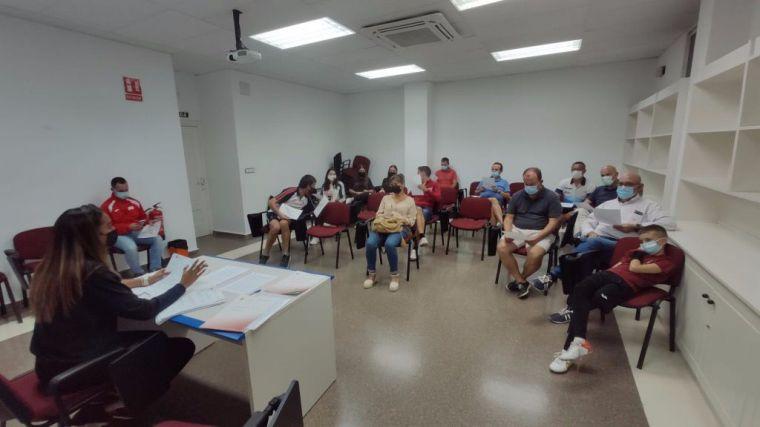 Reunión de coordinación con los clubes deportivos