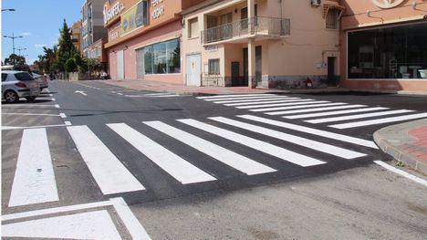 FOT. Reabre al tráfico la vía de servicio en la avenida Ginés Campos