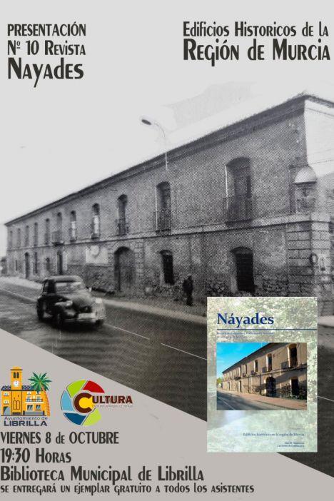 Las Posadas de Librilla, portada de la revista Náyades