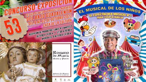 Agenda de actividades de la Feria de Alhama para este miércoles