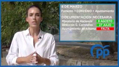 VÍD. Cánovas asegura que el PSOE miente sobre la RM515