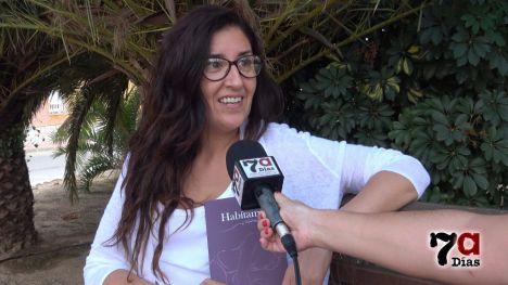 VÍD. Eliana Márquez firmará 'Habítame' en la Feria del Libro de Murcia