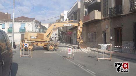 Cortada la avenida España por unas obras