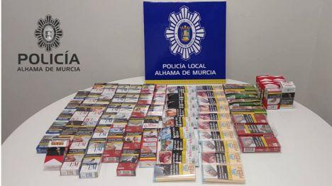 La Policía Local se incauta de tabaco de venta ilegal