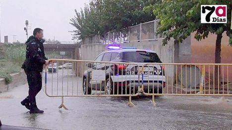 VÍDEO La borrasca trae a Alhama una tormenta de media hora
