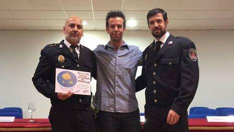 Agentes de la Policía Local de Alhama
