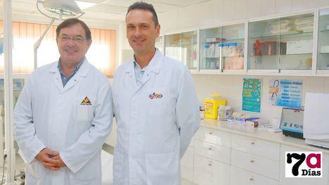 Manuel García, director de Recursos Humanos, y José David Rodríguez, responsable de Prevención