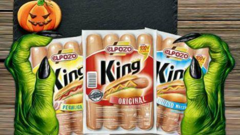Las salchicas King, de ElPozo, protagonizan divertidas recetas de Halloween