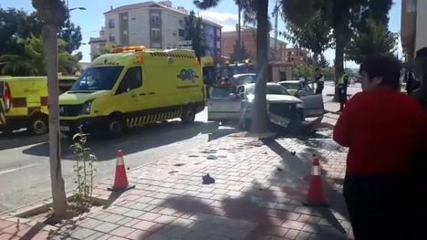 VÍDEO Aparatoso accidente en la Avenida Ginés Campos