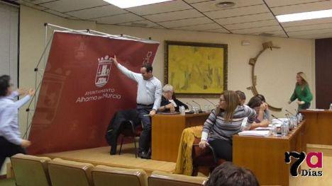 VIDEO/FOTO Incidente en el Pleno de Octubre, sin concejales heridos