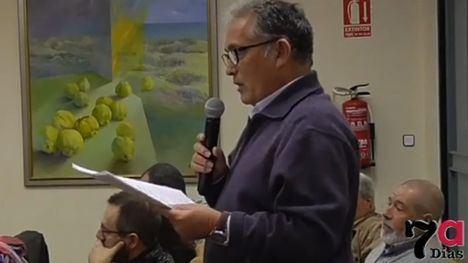 Cristóbal Altamayo defendió la propuesta ante el pleno del Ayuntamiento