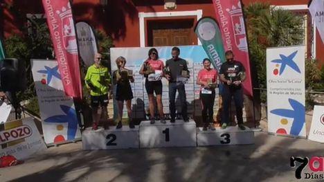 VIDEO Emocionante entrega de premios del Alhama Trail 2018
