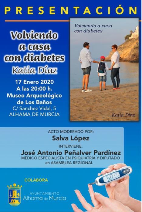 Katia Díaz presenta su libro 'Volviendo a casa con diabetes' el viernes