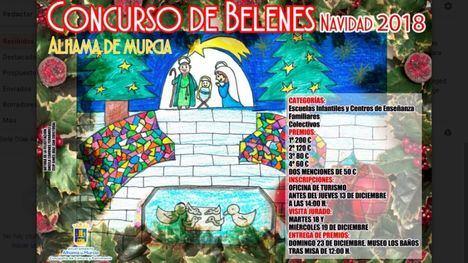 Premio de 200 y 100 € a los mejores belenes y tarjetas de Navidad