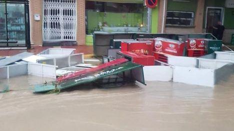 Inundaciones en Librilla ocurridas el pasado verano