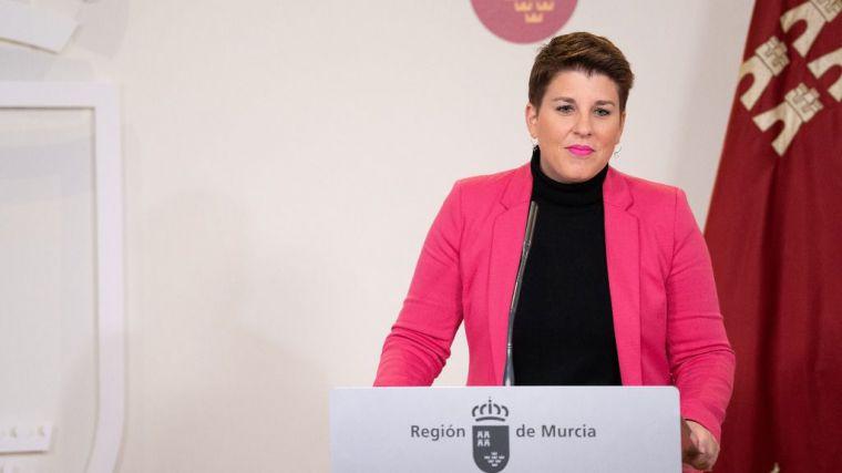 La portavoz del Gobierno regional, Noelia Arroyo, compareció hoy en rueda de prensa para informar de los asuntos de Consejo de Gobierno.