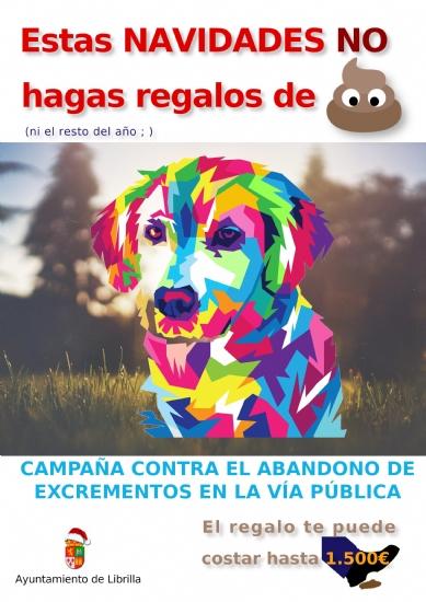 Librilla inicia una campaña contra cacas caninas en la calle