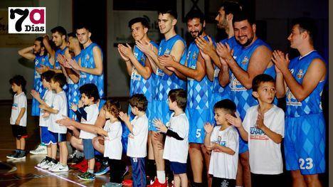 FOTOS Espectacular presentación de los equipos del CB Alhama