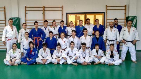 FOTOS Jornada de técnicas de Judo en el pabellón Adolfo Suárez