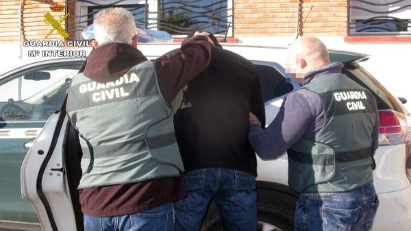 Detenidos en Mazarrón dos atracadores con antecedentes policiales