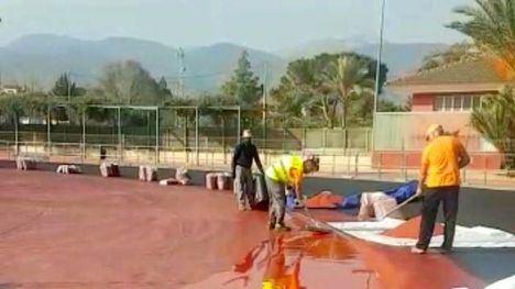 VÍDEO Las obras de la pista de atletismo entran en la recta final
