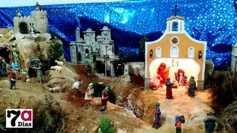 FOTOS La iglesia de Gebas se hace portal de Belén del niño Jesús