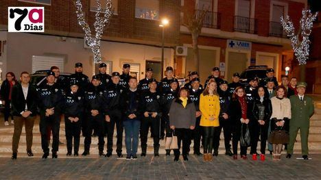 VÍDEO/FOTO La Policía Local celebra su patrón San Lázaro Obispo